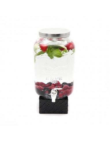 Fontaine d'eau infusion de fruits