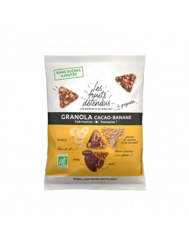Granola cacao banane bio Les Fruits...